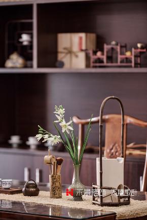 中式 书房图片来自禾景大陈设计在空谷幽兰亦芬芳的分享