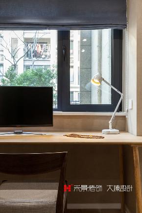小资 80后 书房图片来自禾景大陈设计在耳目一新的艺术空间—天井茶室的分享
