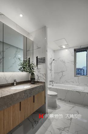 三居 收纳 卫生间图片来自禾景大陈设计在160㎡美宅,实景比效果图更赞的分享