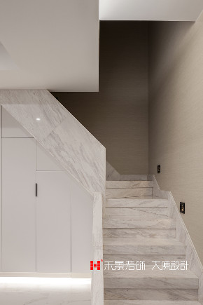 小资 80后 楼梯图片来自禾景大陈设计在耳目一新的艺术空间—天井茶室的分享