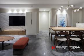小资 80后 客厅图片来自禾景大陈设计在耳目一新的艺术空间—天井茶室的分享