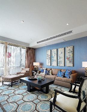 客厅图片来自家装大管家在典雅时尚 146平新中式格调3居室的分享