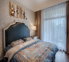 主卧增加独立衣帽间,既丰富了主卧空间的功能性又避免了主卫生间门对着卧室床。
