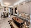 保留着传统欧式材质、色彩的同时,将复杂的肌理及装饰一并摒弃,营造一个典雅、高贵、富有浪漫欧式风情的现代家居空间。