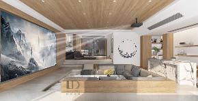 联排别墅 北欧 设计 客厅图片来自重庆兄弟装饰黄妃在首钢美利山联排别墅装修效果参考的分享