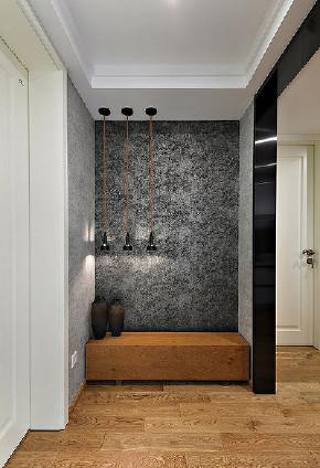 玄关图片来自家装大管家在明亮恬静 95平现代混搭舒适两居的分享