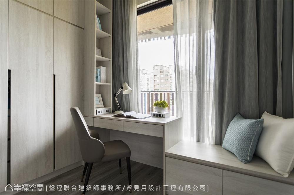 装修设计 装修完成 现代风格 书房图片来自幸福空间在205平,沉砌-砌筑生活的态度的分享