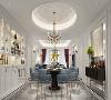 本案注重中式元素与现代材质的巧妙结合,并跟随潮流,适当融入轻奢元素,使该房屋拥有更多金属元素和现代时尚,让空间贴近生活,更加富有韵味!