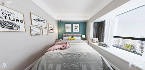 混搭 装修 装饰 设计 90后 小资 白领 卧室图片来自深圳市言威装饰设计有限公司在【言威装饰作品】鸿瑞花园的分享