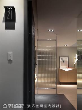 装修设计 装修完成 现代风格 玄关图片来自幸福空间在116平, 文旅系轻柔住宅的分享