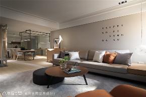 装修设计 装修完成 现代风格 餐厅图片来自幸福空间在116平, 文旅系轻柔住宅的分享