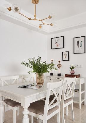 餐厅图片来自家装大管家在135平现代美式3居 低调又有内涵的分享