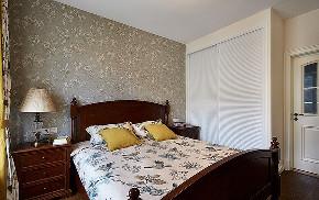 卧室图片来自家装大管家在休闲浪漫世界 116平简约美式3居的分享