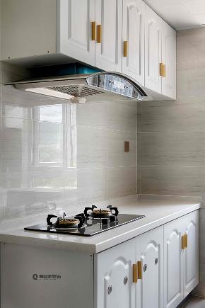 轻奢 法式 装修 厨房图片来自俏业家装饰在万科金域学府法式装修的分享