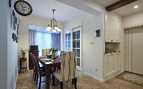 餐厅图片来自家装大管家在休闲浪漫世界 116平简约美式3居的分享