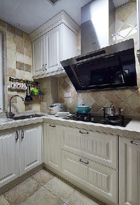 厨房图片来自家装大管家在休闲浪漫世界 116平简约美式3居的分享