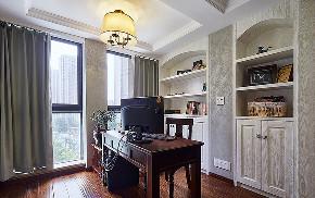 卧室图片来自家装大管家在149平美式温馨3居 随性舒适生活的分享