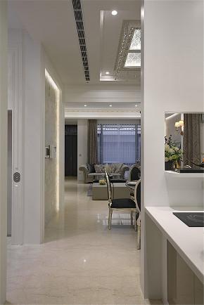 装修设计 装修完成 新古典 厨房图片来自幸福空间在281平,轻奢感新古典别墅的分享
