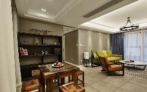 餐厅图片来自家装大管家在123平简洁现代3居 实用精致生活的分享