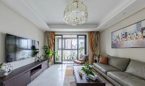 客厅图片来自家装大管家在145平现代舒适3居 低调奢华世界的分享