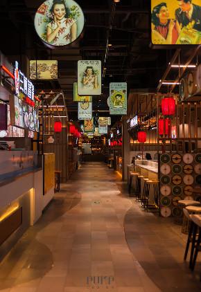 简约 其他图片来自PUMP帮浦室内设计在张杺:森林中的高颜值美食街区的分享