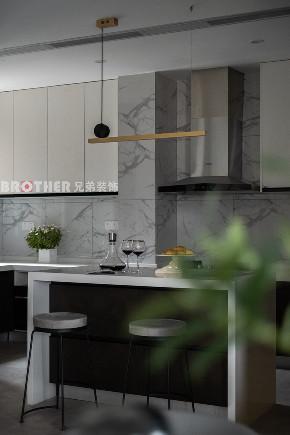 简约 别墅 小资 收纳 黑白灰 厨房图片来自兄弟装饰-蒋林明在光华安纳溪湖别墅设计的分享