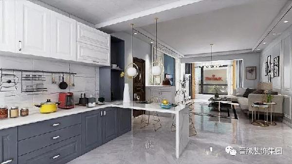 设计简约用心,线条清晰合理,轻松实用的空间,优雅大气的氛围,天然的大理石地板将空间亮度瞬间提升一个层次,北欧风格的时尚家居总能让人满怀惊喜。