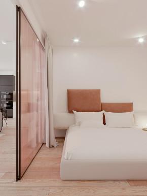 简约 二居 白领 旧房改造 80后 小资 卧室图片来自北京今朝装饰在百看不厌的粉色的分享