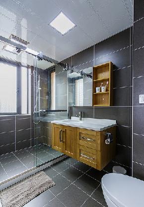 卫生间图片来自家装大管家在美轮美奂 98平日式北欧混搭空间的分享