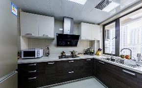 厨房图片来自家装大管家在美轮美奂 98平日式北欧混搭空间的分享