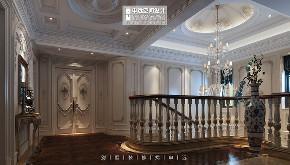 北京申远 别墅装修 装修设计 楼梯图片来自申远空间设计北京分公司在北京申远空间设计-法式轻奢的分享