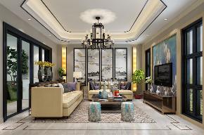 简约 田园 混搭 三居 别墅 白领 收纳 80后 小资 客厅图片来自luther520在新中式的分享