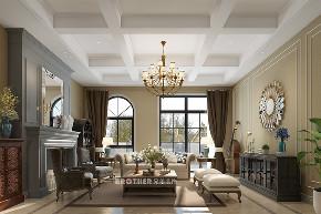 别墅 白领 客厅 荟澜山 欧式 客厅图片来自兄弟装饰-蒋林明在庆隆高尔夫别墅设计|荟澜山装修的分享