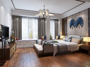 简约 田园 混搭 三居 别墅 白领 收纳 80后 小资 卧室图片来自luther520在新中式的分享