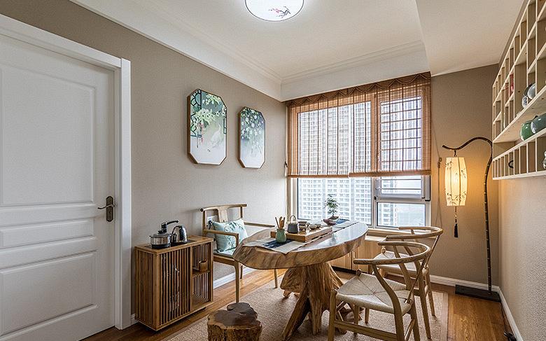 书房图片来自家装大管家在淡雅清新气质 125平简约美式3居的分享