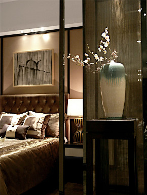 中式 三居 收纳 旧房改造 80后 小资 卧室图片来自北京今朝装饰在中式三居室的分享