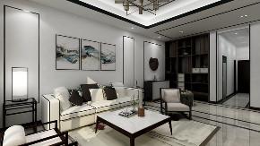 三居 中式 小资 客厅图片来自重庆东易日盛装饰在书香溪墅新中式设计的分享