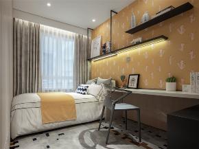 装修设计 装修完成 现代风格 儿童房图片来自幸福空间在99平,质材层递  都会美感生活的分享
