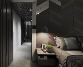 装修设计 装修完成 老屋翻新 现代风格 其他图片来自幸福空间在40平,深邃沈稳精致小宅的分享