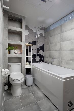 三居 混搭 收纳 旧房改造 久栖设计 室内设计 装修设计 色彩 软装 卫生间图片来自久栖设计在【久栖设计】颜色采集站的分享