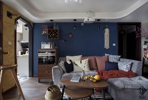 三居 混搭 收纳 旧房改造 久栖设计 室内设计 装修设计 色彩 软装 客厅图片来自久栖设计在【久栖设计】颜色采集站的分享