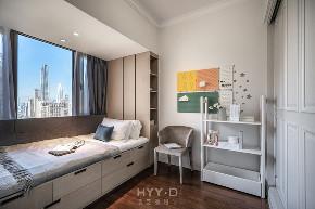轻奢风格 精装房改造 儿童房图片来自郑鸿在恒裕滨城:土气精装房的大变身!的分享