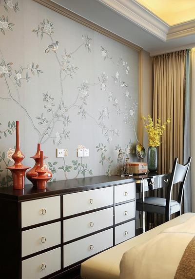 卧室图片来自家装大管家在当代美学 146平轻奢时尚现代3居的分享