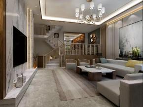 中式 楼梯图片来自晋级装饰潘露在晋级装饰--香缇别墅380平米的分享