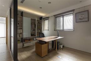 装修设计 装修完成 现代休闲 书房图片来自幸福空间在182平,客变规划 三面采光机能宅的分享