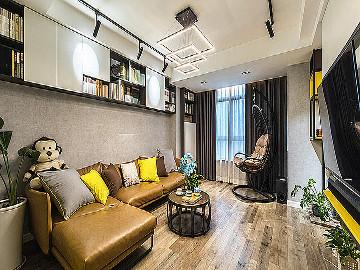 暖暖的空间 62平现代简约雅致居