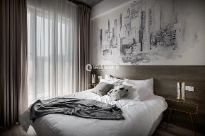 简约 现代 民宿 现代风格 卧室图片来自俏业家装饰在重庆喜马拉雅大平层现代风格装修的分享