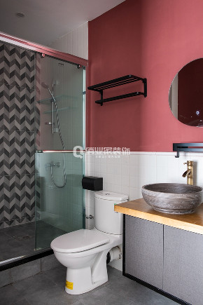 简约 现代 民宿 现代风格 卫生间图片来自俏业家装饰在重庆喜马拉雅大平层现代风格装修的分享