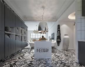 北欧风格 80后 收纳 三居 小资 餐厅图片来自尼欧 | NEO设计在尼欧—《巴黎灰格调》的分享
