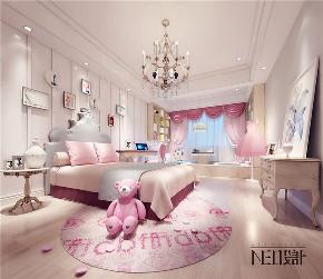轻奢 现代风格 平层设计 儿童房图片来自尼欧 | NEO设计在尼欧—《海天一色的纯美与浪漫》的分享